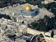 Die Al-Aksa-Moschee in Ost-Jerusalem. (Bild: KEYSTONE/AP/KEVIN FRAYER)