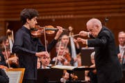 US-Violinist Stephen Waarts.