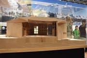 Das Klanghausmodell am Stand von Toggenburg Tourismus. (Bild: Ruben Schönenberger)