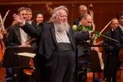 Der 75-jährige finnische Dirigent Leif Segerstam.