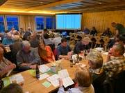 An der Generalversammlung der IG Appenzeller Naturstrom wurden die Genossenschafter auch über die Initiative «Pro Windenergie» informiert. (Bild: PD)