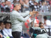 Adi Hütters Eintracht Frankfurt ist aus dem Tritt geraten (Bild: KEYSTONE/EPA/RONALD WITTEK)