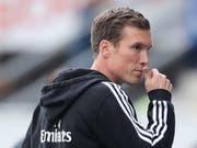 Der von Hannes Wolf trainierte Hamburger SV verspielte die letzte Aufstiegschance (Bild: KEYSTONE/EPA/FRIEDEMANN VOGEL)