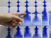 Das Erdbeben hatte laut ersten Angaben der US-Erdbebenwarte eine Stärke von 6,1 auf der Richterskala. (Bild: KEYSTONE/AP/STR)