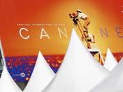 Das Filmfestival in Cannes ist für die Eröffnung am 14. Mai bereit. (Bild: Keystone/EPA/SEBASTIEN NOGIER)