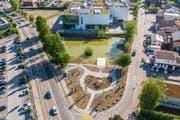 Einer Erweiterung der Zone 210 bis zur Haltestelle Wiesenbach/Cinedome hätte finanzielle Einbussen zur Folge. (Bild: Urs Bucher, 8. Mai 2018)
