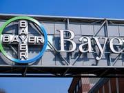 Der Bayer-Konzern hat einen weiteren Prozess in den USA verloren und ist mit einer Milliardenstrafzahlung konfrontiert. (Bild: KEYSTONE/EPA/SASCHA STEINBACH)