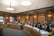 Der Ausserrhoder Kantonsrat: Mehr als ein Drittel der Parlamentarier räumt auf Ende Legislatur für immer den Pult. (Bild: Tagblatt)