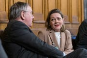 Als Bundesratskandidatin konnte Heidi Z'graggen Luft im Bundeshaus schnuppern. (Bild: Alessandro della Valle/Keystone, Bern, 3. Dezember 2018)