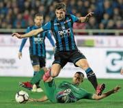 Remo Freuler steht heute Abend gegen Lazio Rom im italienischen Cup-Final. (Bild: Emilio Andreoli/Getty (Bergamo, 3. März 2019))