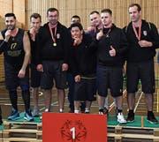 Die Gonzen Tigers sicherten sich in heimischen Gefilden den Schweizer-Meister-Titel. (Bild: PD)