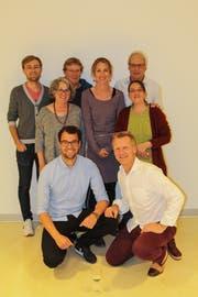 Der neue Vorstand; oben von links: Marco Planzer, Annemarie Biasini, Christa Riedi, Katrin Dittli, Graziella Jannetta, Ernst Dittli; unten von links: Fabian Haas, Kurt Eichenberger. (Bild: PD)