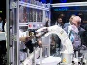 Die Schweizer Maschinen-, Elektro- und Metallindustrie hat im ersten Quartal einen Dämpfer hinnehmen müssen. (Bild: KEYSTONE/ENNIO LEANZA)