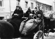 Flucht aus Ostpreussen vor der Roten Armee 1945. (Bild: Bundesarchiv)
