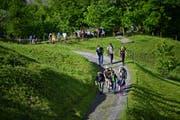 Das Wandern scheint des Pfadfinders Lust: Der diesjährige Siächämarsch führt vom Toggenburg über das Werdenberg bis hin ins Glarnerland, die längste Strecke misst satte 100 Kilometer. (Bild: PD)