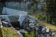 Hochwasserschutz in Kradolf: Der Bitzibach hat im Vorjahr ein Auffangbecken erhalten. (Bild: Georg Stelzner)