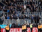 Die Swiss Football League sprach erste Sanktionen im Zusammenhang mit dem Spielabbruch bei Luzern gegen GC aus (Bild: KEYSTONE/ALEXANDRA WEY)