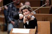 Die deutsche Violinistin Anne-Sophie Mutter (55). (Bild Ullstein/Getty)