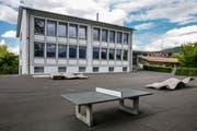 Das Schulhaus Kuonimatt in Kriens. (Bild: Philipp Schmidli, 1. Juni 2018)