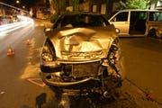 Die Autos sind nach dem Unfall zerstört. (Bild: Staatsanwaltschaft Luzern)
