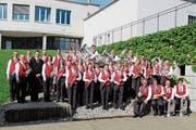 Lange wird das Erscheinungsbild des Musikvereins Waldkirch nicht mehr so sein. Mitte Juni gibt es neue Uniformen. (Bild: PD)