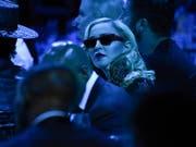 Madonna ist in der vergangenen Nacht in Israel eingetroffen. Beim ESC-Finale am nächsten Samstag will sie mit zwei Songs auftreten, hat jedoch laut Medien den entsprechenden Vertrag noch nicht unterschrieben. (Bild: KEYSTONE/AP Invision/EVAN AGOSTINI)