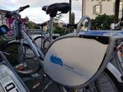 Ab Samstag gibt es sie in weiteren Nidwaldner Gemeinden: Velos von Nextbike. (Bild: Matthias Piazza)