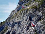 Ab dem 18. Mai fährt sie wieder den Berg hinauf: Die Pilatus-Zahnradbahn. (Bild: PD)