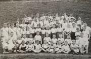 Ein Bild der Jugendriege aus den Anfängen - ein Aufnahme von 1927. (Bild: PD)