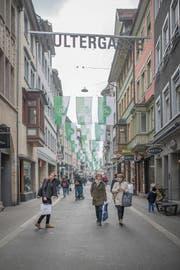 Die Altstadtgassen sollen verstärkt ein Ort der Begegnung werden. (Bild: Benjamin Manser (19. April 2019))