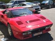 Der Ferrari 288 GTO aus dem Jahr 1985 soll einen Wert von über 2 Millionen Euro haben. (Bild: Keystone/DPA Polizei Düsseldorf/---)
