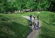 Der diesjährige Siächämarsch führt vom Toggenburg über das Werdenberg bis ins Glarnerland, die längste Strecke misst 100 Kilometer. (Bild: PD)