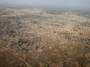 Die Stadt Maiduguri in Bundesstaat Borno in Nigeria gehört zu den von der Regierung vernachlässigten Gebieten des Landes - ein Nährboden für die Terrormiliz IS. (Bild: Keystone/EPA UNICEF/UNICEF / MARK NAFTALIN / HANDOUT)