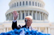 US-Präsident Donald Trump empfängt Bundespräsident Ueli Maurer im Weissen Haus. (Bild: Keystone)