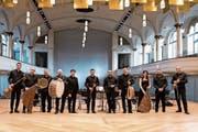 Das Gurdjieff-Ensemble aus Armenien vor seinem Auftritt in der Tonhalle. (Bild: Adriana Ortiz Cardozo)