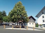 Der Tanzplatz mit dem neuen Brunnen soll ein Begegnungsort für Einheimische und Touristen sein. (Bild: PD)