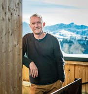 Simon Enzler: «Der Alltagsmensch wälzt seit Urzeiten dieselben Probleme.» (Bild: Urs Bucher, Schlatt-Haslen, 8. Februar 2019)