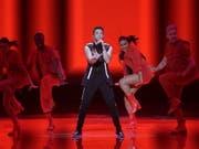 Schon die Vorzeichen standen gut für Luca Hänni - nun hat der Schweizer Teilnehmer den Einzug in den Final des 64. Eurovision Song Contest geschafft. (Bild: Keystone/EPA/ABIR SULTAN)