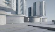 So sollen die Wohntürme neben der Mall dereinst aussehen. (Visualisierung: PD/Architekturbüro Iwan Bühler)