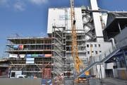 In der KVA Buchs schreiten die Bauarbeiten für die Erneuerung der Kommandoräume planmässig voran.