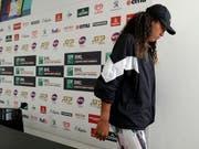 Naomi Osaka erklärte für ihren Viertelfinal in Rom forfait (Bild: KEYSTONE/AP/GREGORIO BORGIA)
