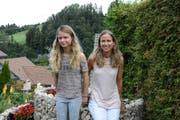 Christina von Dreien mit ihrer Mutter. (Bild: Beat Lanzendorfer)