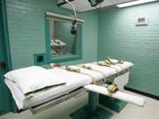 Die USA haben am Donnerstag erneut zwei Todesurteile vollstreckt. (Bild: KEYSTONE/AP/PAT SULLIVAN)