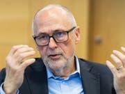 Peter Gilliéron präsidiert seit Juni 2009 Präsident den Schweizer Fussball-Verband (Bild: KEYSTONE/PETER KLAUNZER)