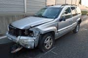 Beim Unfall entstand ein Sachschaden von rund 30'000 Franken. (Bild: Luzerner Polizei, 16. Mai 2019)