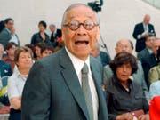 Der berühmte Architekt Ieoh Ming Pei ist mit über 100 Jahren verstorben. (Archivbild von 2006) (Bild: KEYSTONE/EPA DPA/HARALD TITTEL)