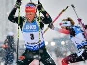 Laura Dahlmeier beendet ihre Biathlon-Karriere bereits mit 25 (Bild: KEYSTONE/EPA TT NEWS AGENCY/ANDERS WIKLUND)
