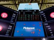An der Börse sind die Titel von Pinterest nach durchmischten Quartalszahlen deutlich gefallen. (Bild: KEYSTONE/EPA/JUSTIN LANE)
