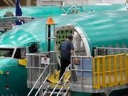Boeing schliesst Software-Update für 737 Max ab. (Bild: KEYSTONE/AP/TED S. WARREN)