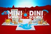 In der Fernsehsendung «Mini Schwiiz, dini Schwiiz» steht Mitte Juni eine Woche lang der Kanton Uri im Mittelpunkt. (Bild: SRF)